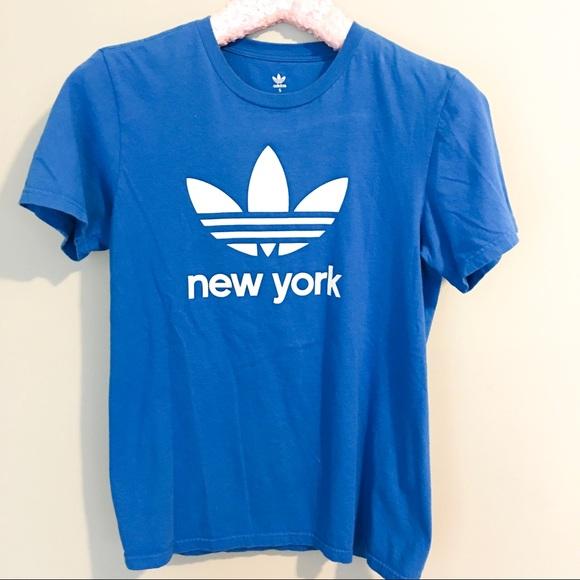 adidas new york t shirt